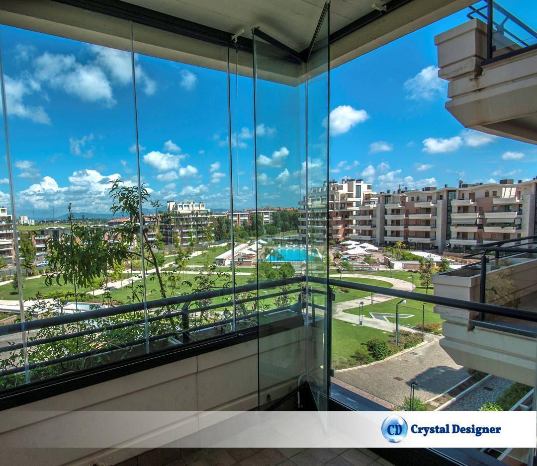 Chiusura balconi in plexiglass for Le belle vetrate scorrevoli